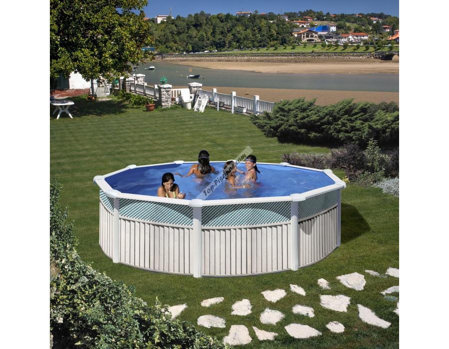 Piscinas gre capri 460x120 ref kit460c for Poolfolie 460 x 120