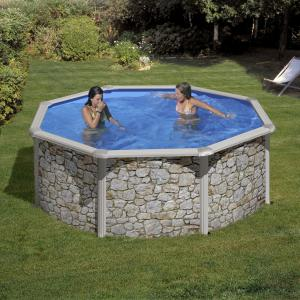 Piscinas Gre Iraklion 350x120 ref KIT350P