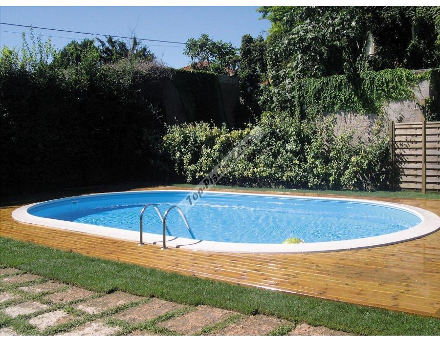 Piscinas enterradas gre madagascar 610x375x150 ref kpeov6159 for Repuestos piscinas desmontables
