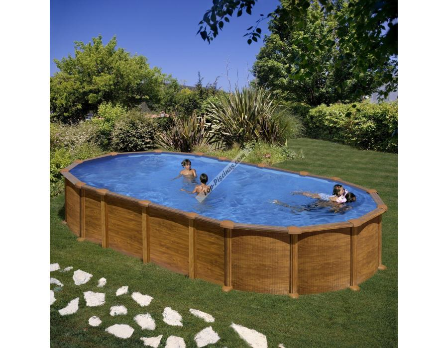 Piscinas starpool imitaci n madera 915x470x132 ref prov9188wo for Piscinas decoradas