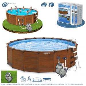 Piscina Intex Sequoia Spirit 478x124 cm Ref 54928