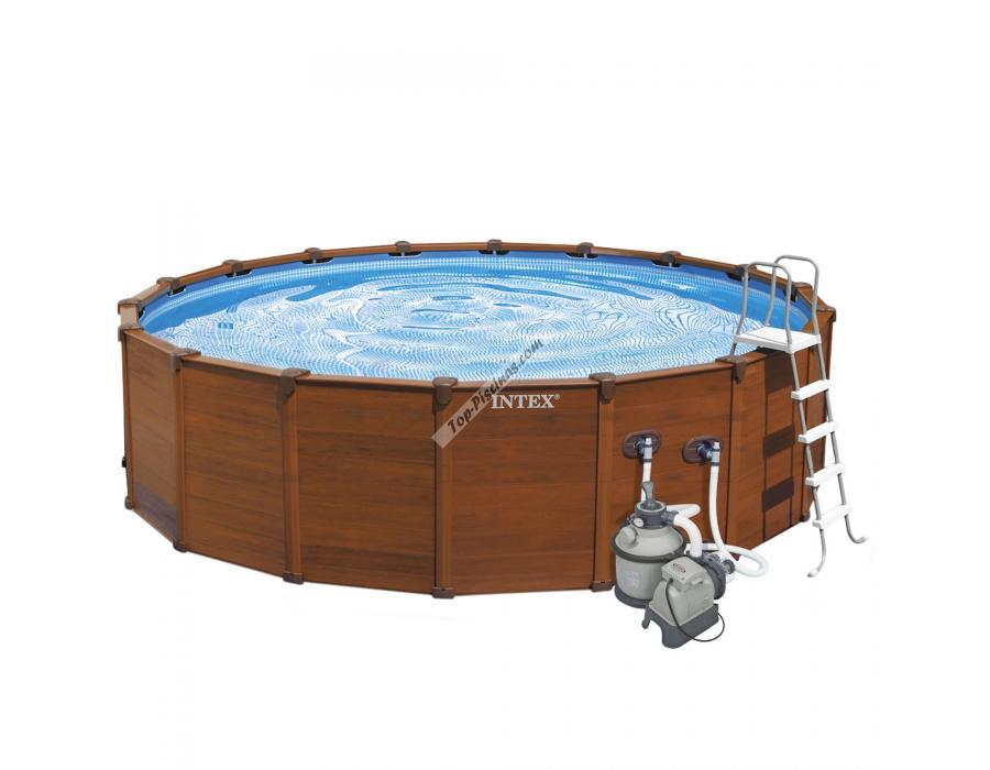 piscina intex sequoia spirit 478x124 cm ref 54928. Black Bedroom Furniture Sets. Home Design Ideas