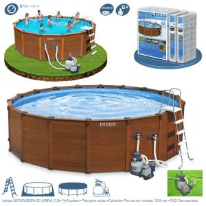 Piscina Intex Sequoia Spirit 569x135 cm Ref 54930