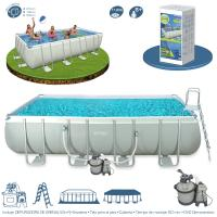 Piscina Intex Rectangular Ultra Frame 549x274x132 cm Ref 54982