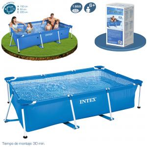 Piscina Intex Small Frame Familiar 220x150x60 cm Ref 58983