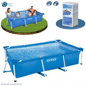 Piscina Intex Small Frame Familiar 260x160x65 cm Ref 58980