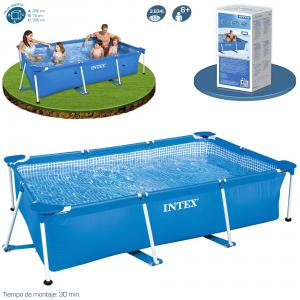 Piscina Intex Small Frame Familiar 300x200x75 cm Ref 58981