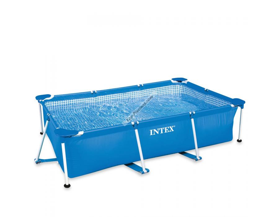 Piscina intex rectangular frame 450x220x84 cm ref 56982 for Piscina desmontable rectangular
