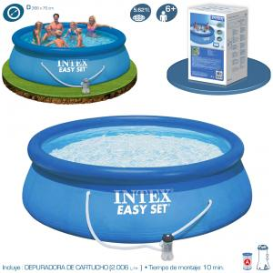 Piscina Intex Easy Set 366x76 cm con Depuradora Ref 56422