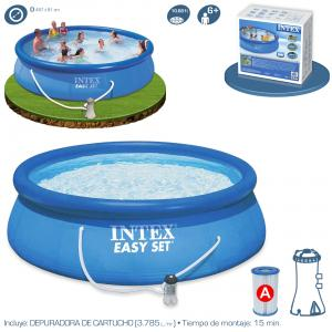 Piscina Intex Easy Set 457x91 cm con Depuradora Ref 56412