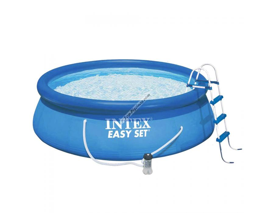 Piscina intex easy set 457x122 cm set completo ref 54916 for Piscina 457 x 122