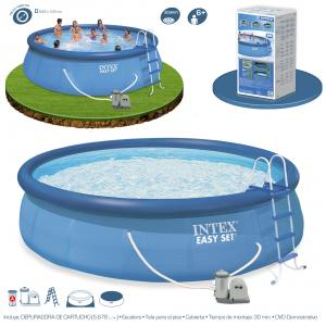 Piscina Intex Easy Set 549x122 Set Completo Ref 54920