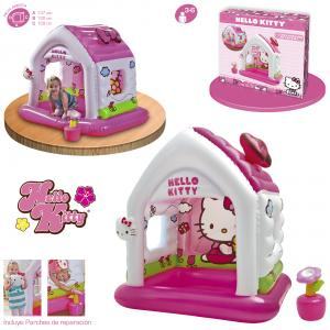 Casita Hello Kitty 137x109x122 cm Intex ref 48631