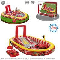 Centro de Juegos Cars Intex 348x198x121 cm Ref 57136