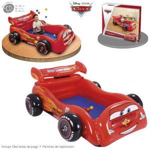 Cama de Bolas Cars 180x145x71 cm ref 48668
