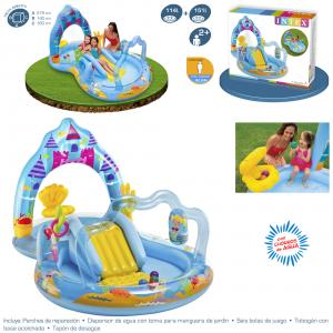 Centro de Juegos Mermaid Kingdom 279x160x140 cm Intex ref 57139
