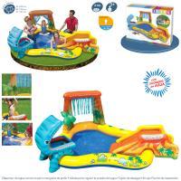 Centro de Juegos Dinosaurio 249x191x109 cm Intex ref 57444