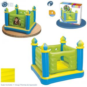 Castillo Saltador Jump-O-Lene Junior 132x132x107 cm Intex ref 48257