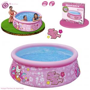 Piscina Easy Set Hello Kitty 183x51 cm ref 57002