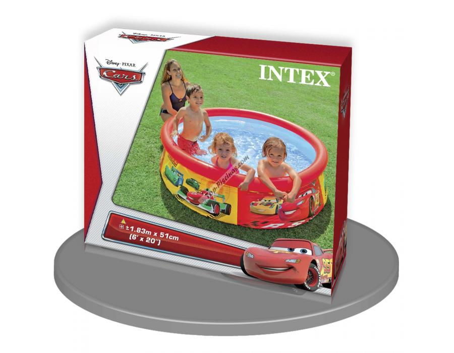 Piscina easy set cars 183x51 cm intex ref 57001 for Intex piscine catalogo