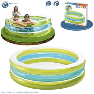 Piscina Intex Hinchable Transparente 203x51 cm ref 57489