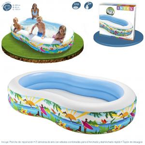 Piscina Intex Hinchable Paradise 262x160x46 cm ref 56490