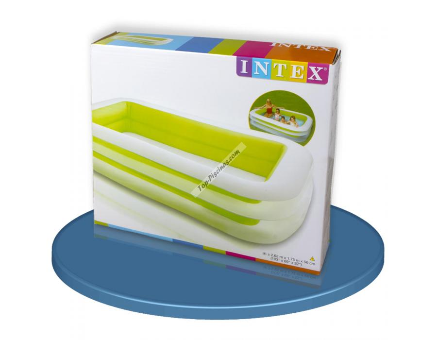 Piscina intex hinchable 262x175x56 cm ref 56483 for Repuestos piscinas intex