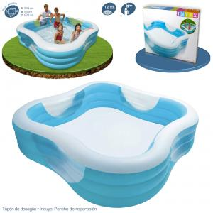 Piscina Intex Familiar 229x229x56 cm Ref 57495