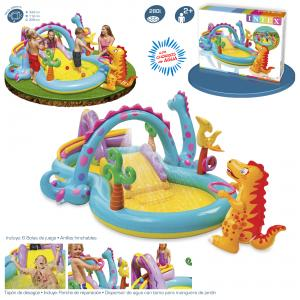 Centro de Juegos Dinosaurio Intex 333x229x112 cm Ref 57135