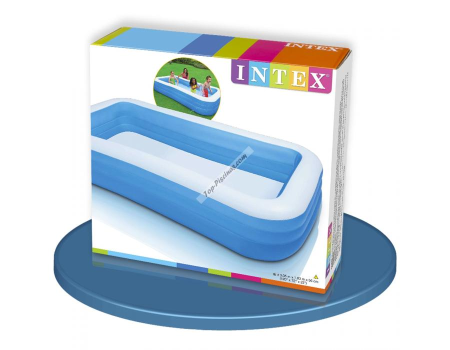 Piscina intex hinchable 305x183x56 cm ref 58484 for Intex piscine catalogo