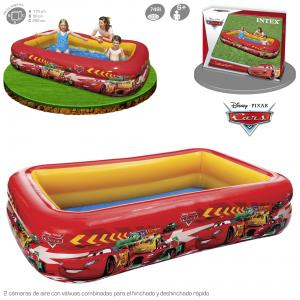Piscina Intex Hinchable Cars 262x175x56 cm Ref 57478