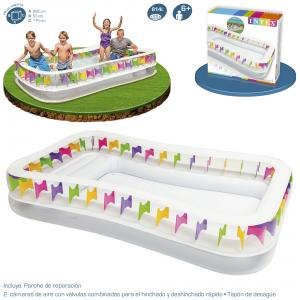 Piscina Intex Hinchable Family Lounge 295x175x53 cm Ref 57477