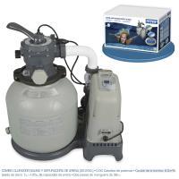 Combo Depuradora de Arena y Cloracion Salina Intex Ref 56678