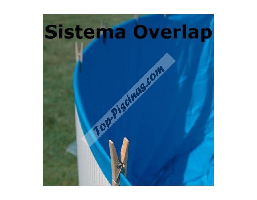 Liner azul para piscinas desmontables circulares de for Accesorios piscinas desmontables