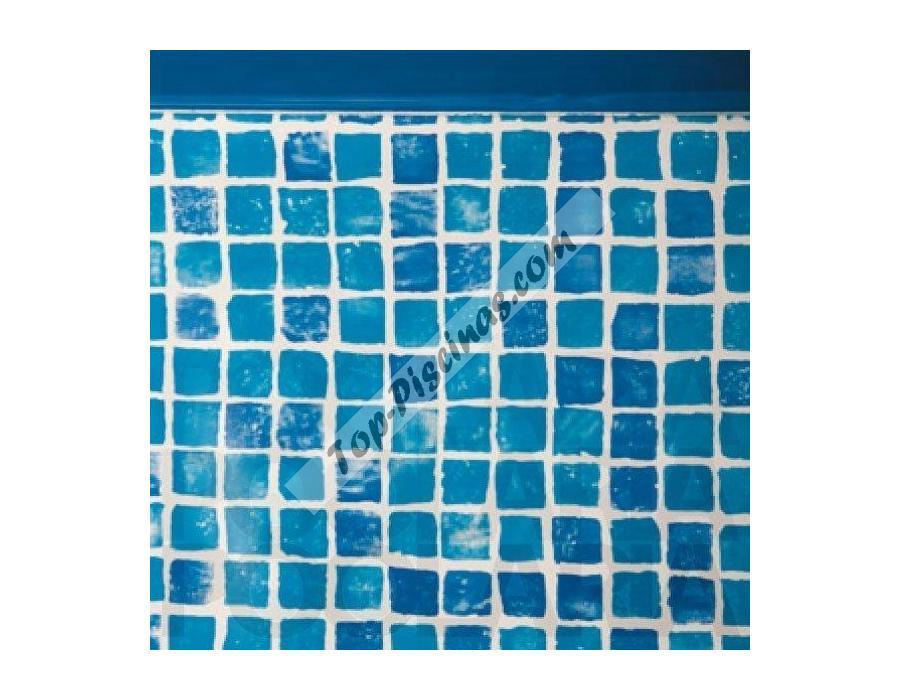 Liner gresite para piscinas desmontables ovaladas de for Liner para piscinas desmontables