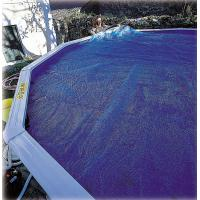 Cubiertas Isotermicas para piscinas gre con forma de ocho
