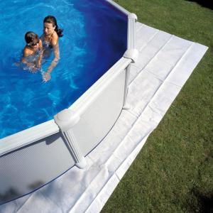 Tapices de suelo para piscinas gre ovaladas