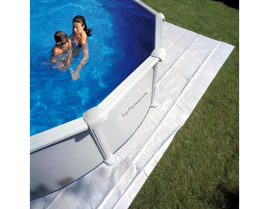 Tapices de suelo para piscinas gre ovaladas - Suelo para piscina desmontable ...