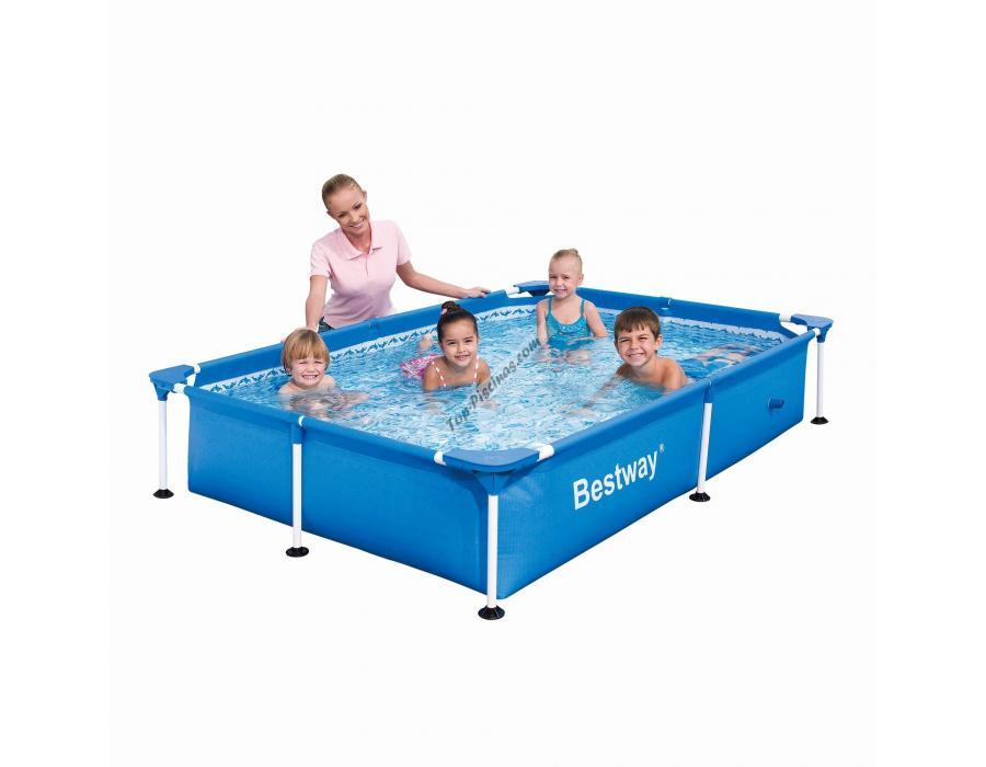 piscina desmontable 400x211x81 cm.bestway 56082