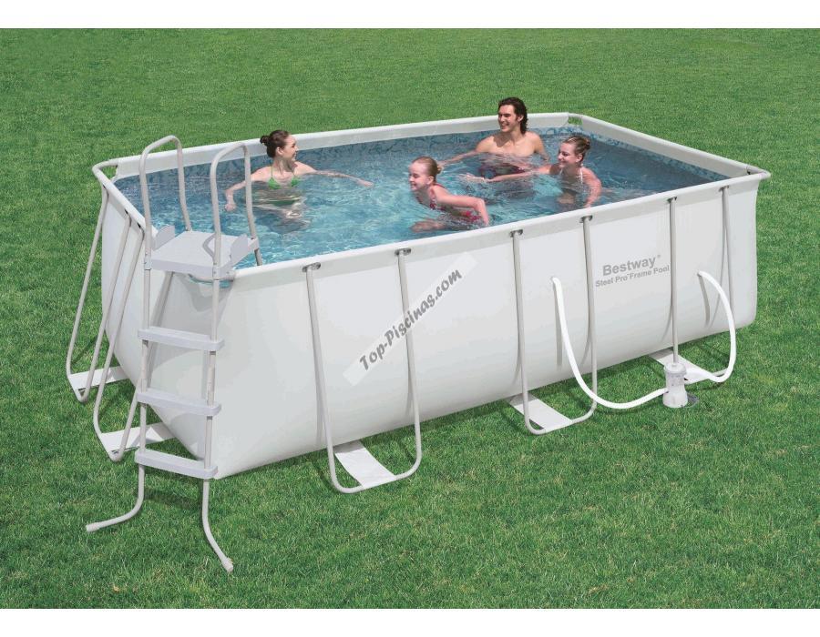 piscina desmontable 412x201x122 cm.bestway 56241