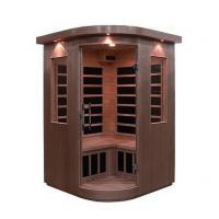 Sauna Inflarrojos Rincon Cedro Rojo 121x121x193 ref PL0766