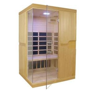Sauna Inflarrojos Pino 131x112x194 HEMLOCK ref PL0797