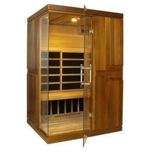 Sauna Inflarrojos Cedro Rojo 131x112x194 ref PL0803