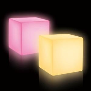 Cubo luminoso LED 20 cm de Pools and Tools
