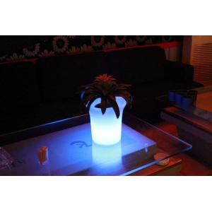 Macetero luminoso LED 29x29x28 de Pools and Tools