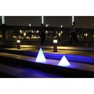 Piramide luminosa LED 26x26x28 de Pools and Tools